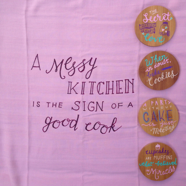 Voor de keukenprinses